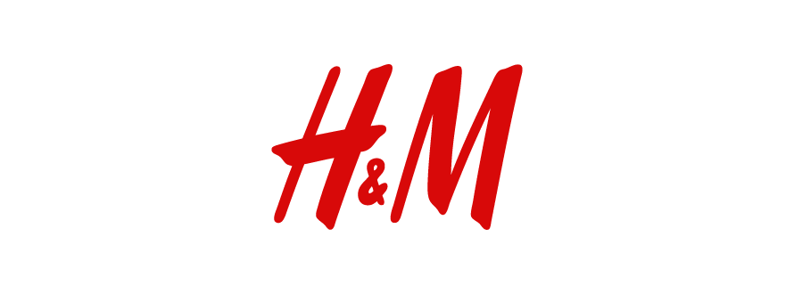 H and M logo design
