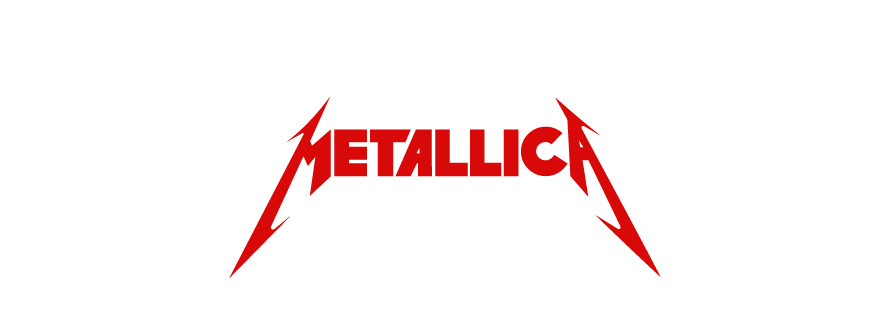 Metallica logo design
