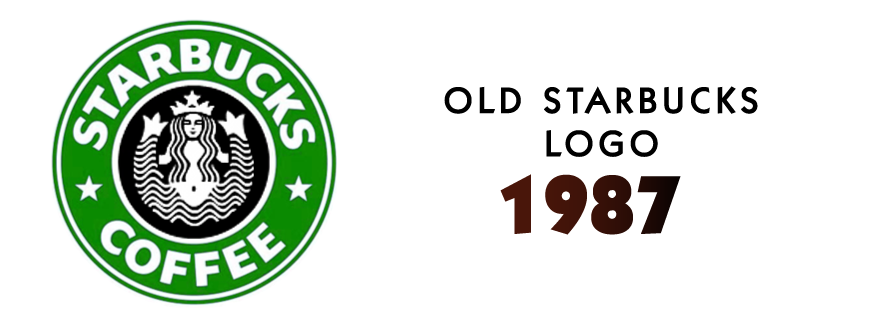Starbucks logo design 1987