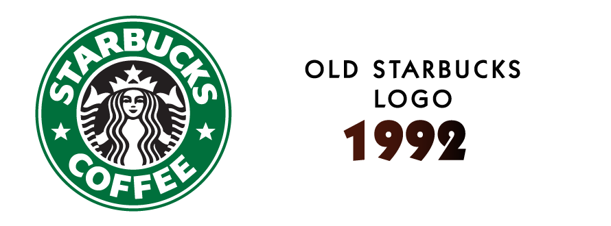 Starbucks logo design 1992