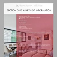 Apartment brochure design Medellin