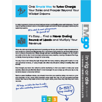 Booklet design Invigo