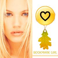 Bookmark design fun vibes
