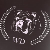 Dog logo design Westdex