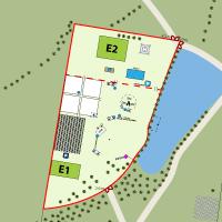 Festival map design for entertaining business