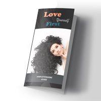 Hair salon brochure Care & Maintenance