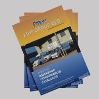 Industrial catalog design MHF