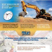 Industrial flyer design MHF