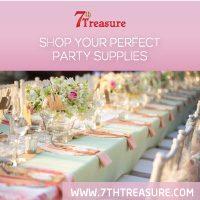 Make Instagram banner Party supplies