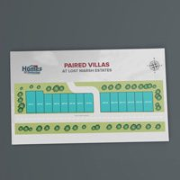 Property map design Paired Villas