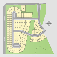 Subdivision site plan Preserve of Riverside