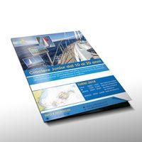 Travel flyers design Tuttinbarca Ibiza Tours
