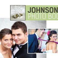 Wedding photo book design Johnsons
