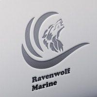 Marine Wolf logo design