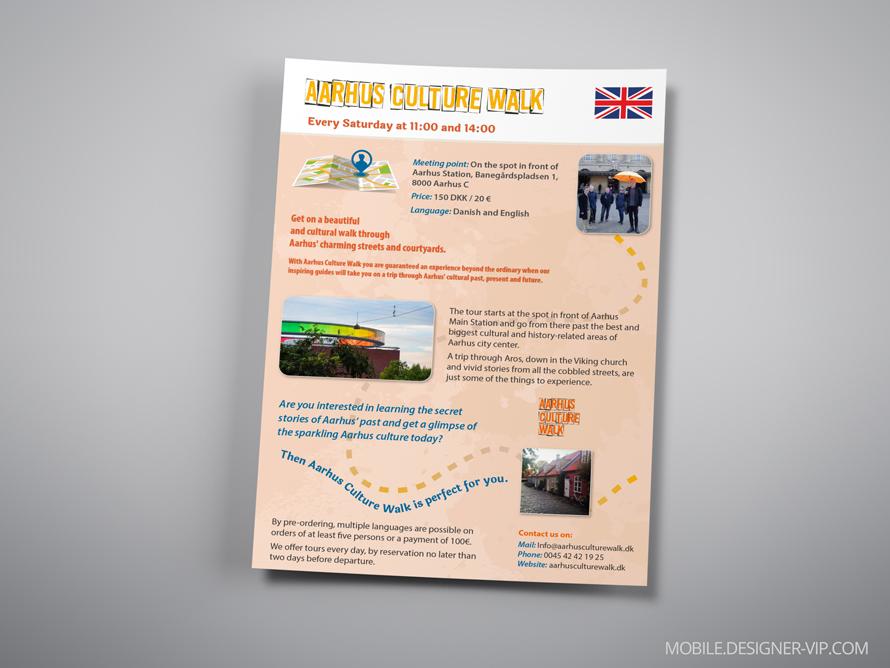 bilingual brochure design ACW english