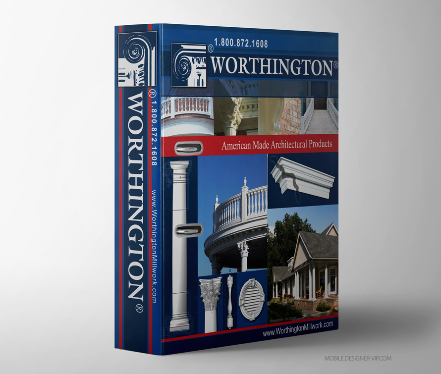 Corporate Binder Design Worthington