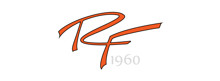 handwritten logo design Rozella Ford