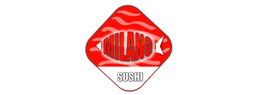 Restaurant logo design Sushi Milano