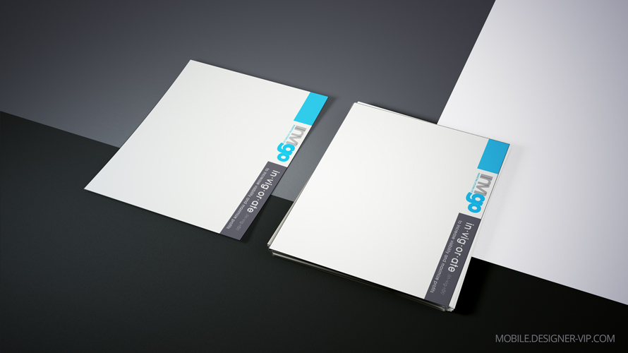 Simple letterhead design Invigo