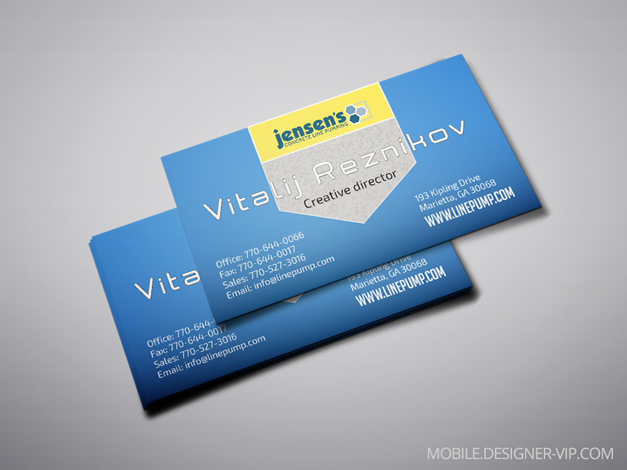 Visiting card design JCLP |