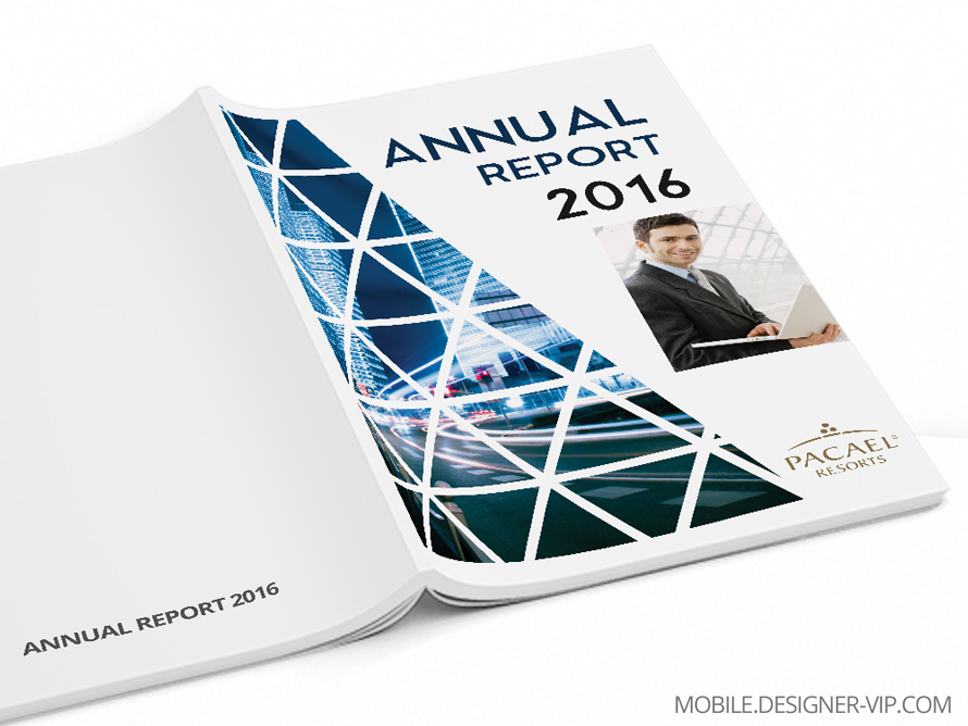 Annual report design Pacael Resorts