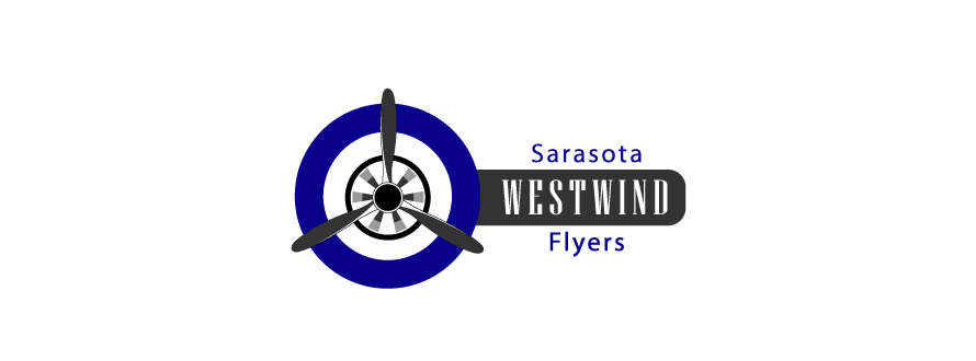Aviation logo design Sarasota Flyers