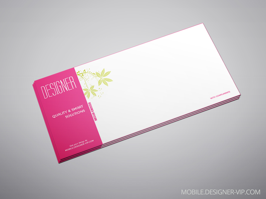 Compliment slip design MDV
