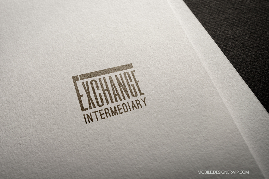 Lawyer logo design Exchange Intermediary