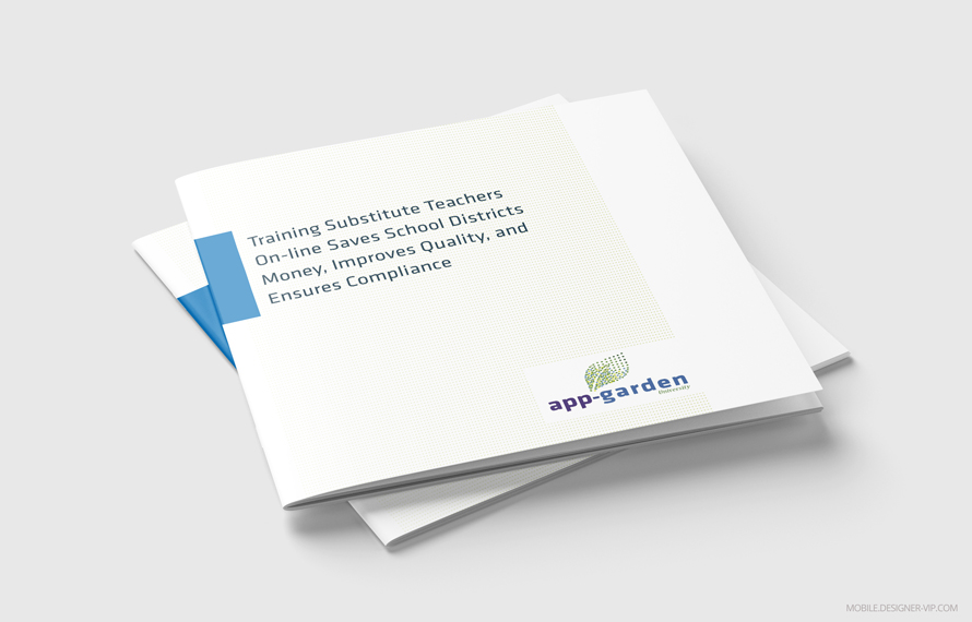 Education white paper cover