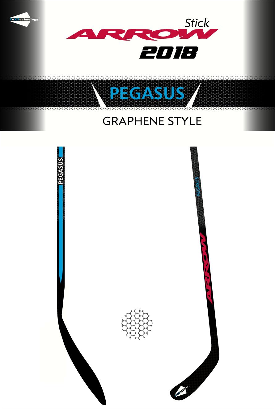 Ice hockey stick design Graphene Pegasus 2018