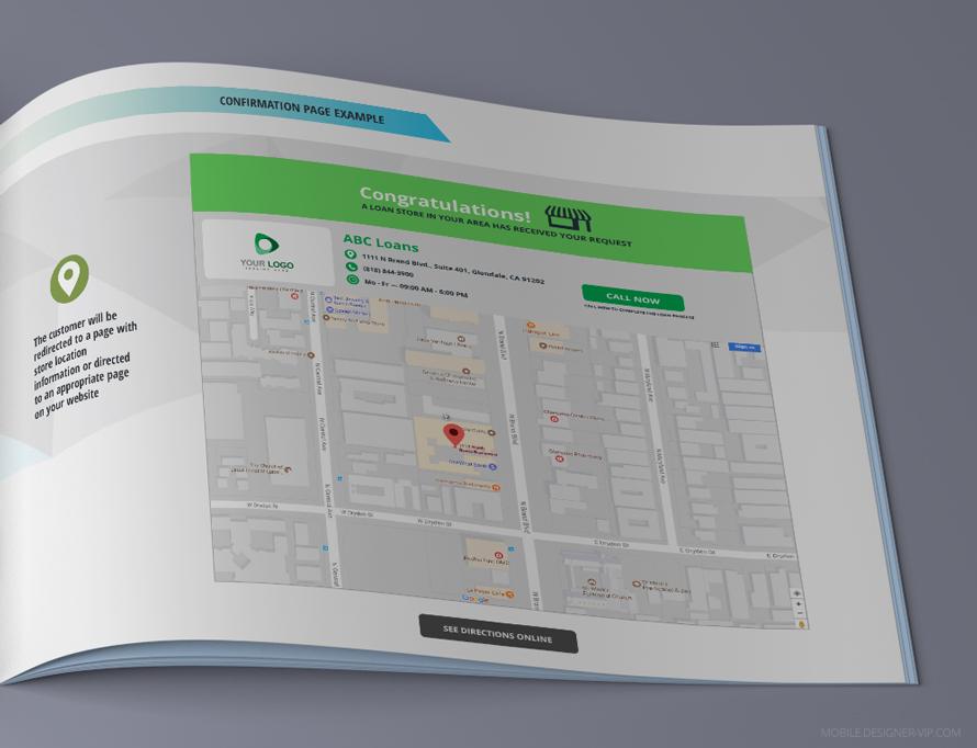 5 page for presentation design