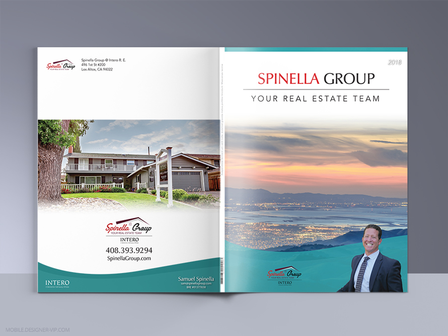 Real Estate brochure cover